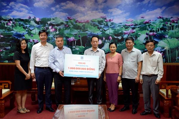 Petrovietnam cùng các đơn vị thành viên đồng lòng hỗ trợ người dân miền Trung