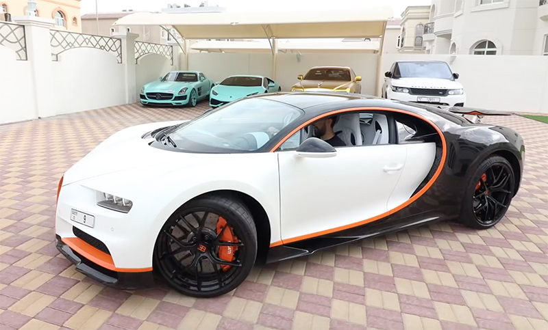 Siêu xe Bugatti Chiron đeo biển số 9 độc nhất giá 10,5 triệu USD