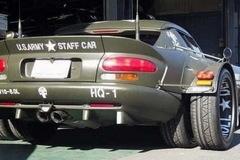 Chiếc Dodge Viper độ dàn lốp kép có một không hai