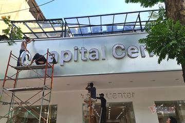 """Cửa hàng """"Apple Store"""" tại Hà Nội đã phải đổi tên, gỡ biển"""