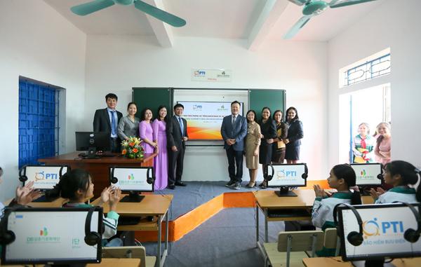 PTI tiếp tục đầu tư công nghệ cho nhiều trường học