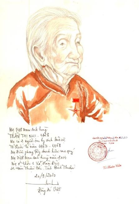 Họa sĩ 72 tuổi Đặng Ái Việt: 'Tôi vẽ các mẹ VN anh hùng là để trả ơn đời!'