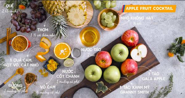 Những món ngon có lợi cho sức khỏe từ táo Washington