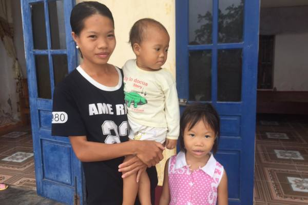 Cùng mắc bệnh tan máu bẩm sinh, ba mẹ con vô vọng cầu cứu