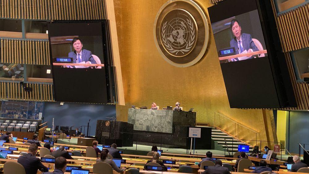 Liên hợp quốc thông qua nghị quyết do Việt Nam thay mặt ASEAN soạn thảo