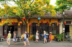 Attractiveness of Hoi An ancient streets