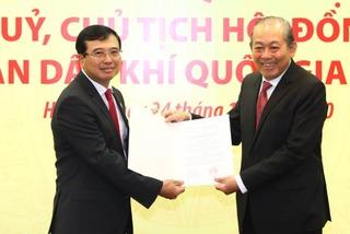 Trao quyết định bổ nhiệm Thứ trưởng Bộ Công thương làm Chủ tịch PVN