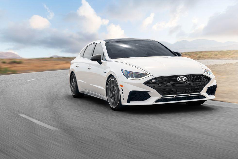 Hyundai Sonata N Line 2021 ra mắt tại Mỹ kiểu dáng đậm chất thể thao