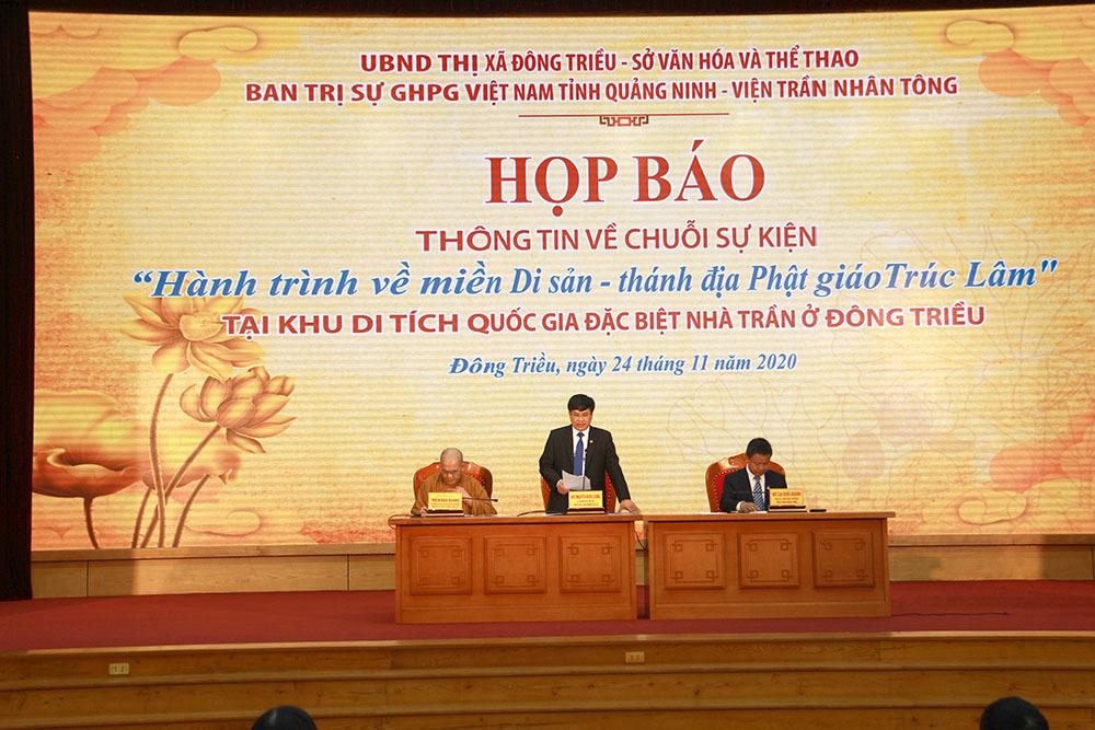 Quảng Ninh sắp có 'Hành trình về miền di sản - Thánh địa Phật giáo Trúc Lâm'