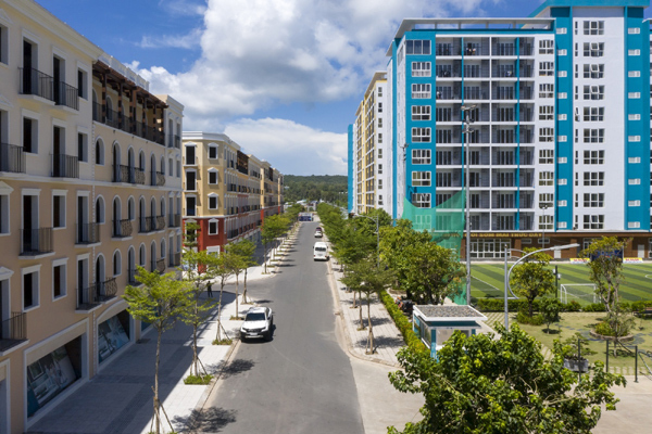 Khu đô thị đảo kiểu mẫu hoàn thiện đầu tiên ở Nam Phú Quốc