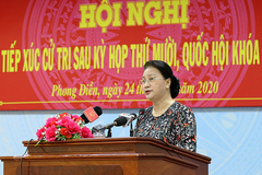 Chủ tịch Quốc hội: Phòng chống tội phạm có những điểm sáng