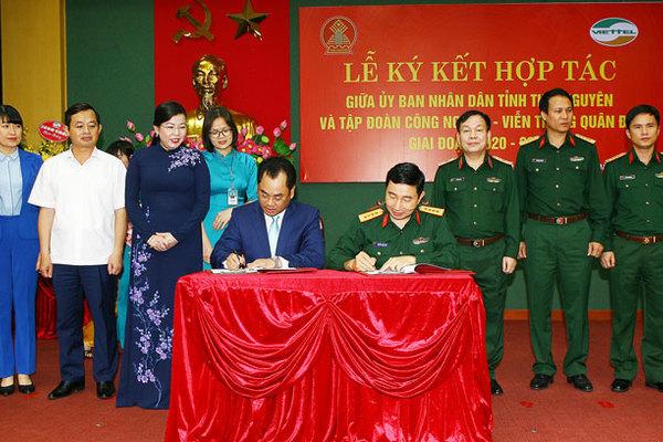 Viettel hỗ trợ Thái Nguyên xây dựng chính quyền số, đô thị thông minh