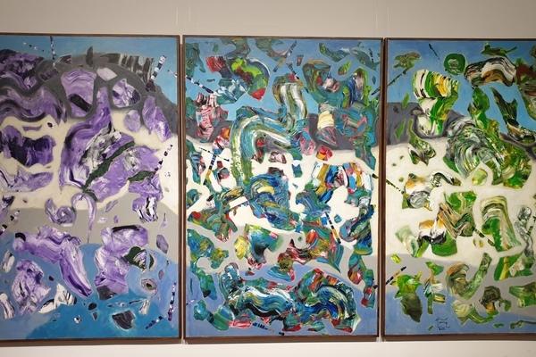 Triển lãm tranh và điêu khắc trường phái siêu thực của Đinh Phong