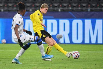 Haaland lập cú đúp, Dortmund rộng cửa đi tiếp