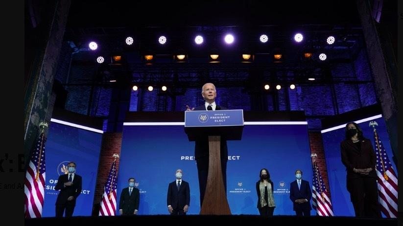 Ông Biden tuyên bố 'Nước Mỹ đã trở lại', ra mắt nhân sự nội các