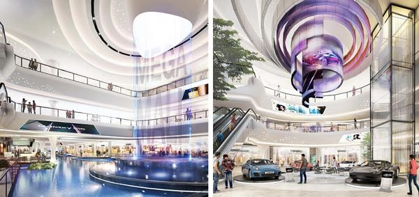 Vincom Mega Mall Smart City được thiết kế với không gian trải nghiệm đặc sắc (Hình ảnh minh hoạ)