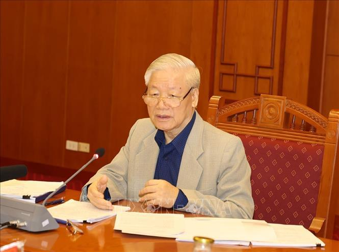 Tổng Bí thư, Chủ tịch nước chủ trì họp về phòng, chống tham nhũng