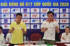12 đội tranh tài ở VCKU17 Cúp Quốc gia 2020