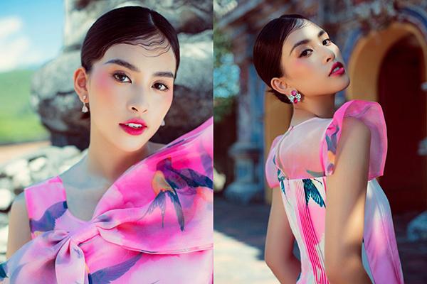 Tiểu Vy biến hóa trong bộ ảnh kết thúc nhiệm kỳ Hoa hậu