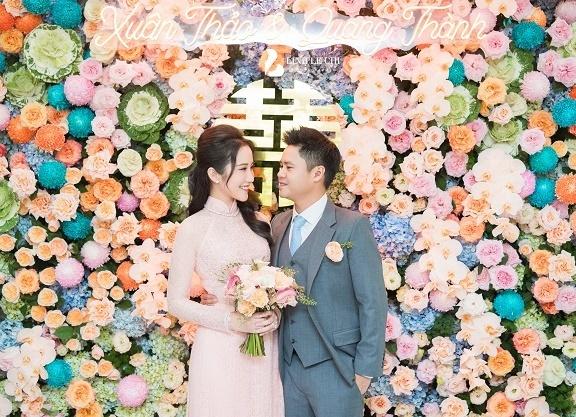 Ảnh đám hỏi của thiếu gia Phan Thành và hot girl Primmy Trương