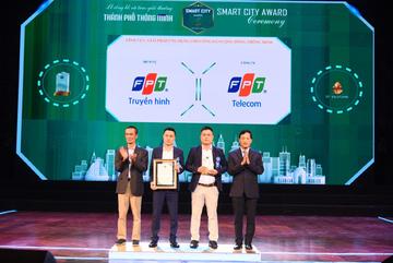 Truyền hình FPT nhận giải 'Thành phố Thông minh 2020'