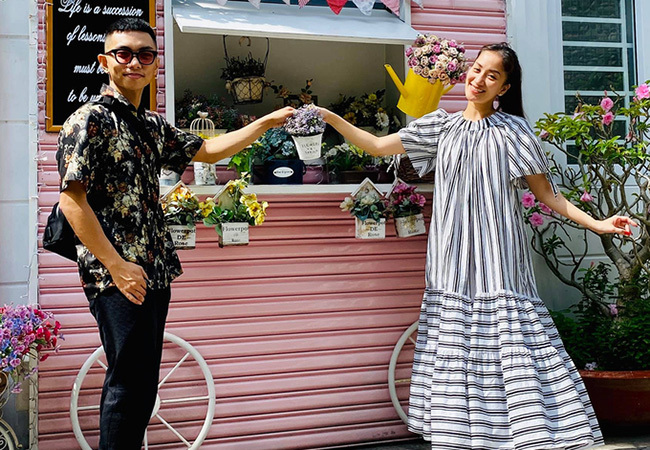 Khánh Thi cùng chồng kém 12 tuổi Phan Hiển 'trốn con' hẹn hò riêng