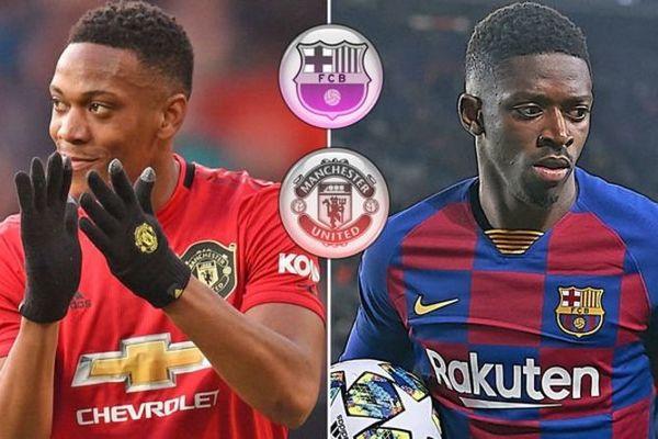 MU bán Martial ký Dembele, Barca phũ Messi