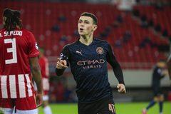 Xem video bàn thắng Olympiacos 0-1 Man City