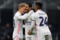 Hazard lập công, Real Madrid nhấn chìm Inter
