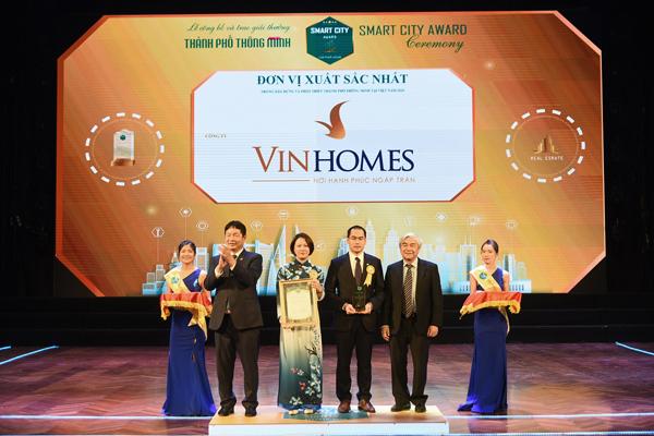 Vinhomes Ocean Park nhận cú đúp giải thưởng 'Thành phố thông minh 2020'