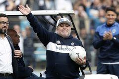 Lời nói cuối cùng của Maradona trước khi qua đời