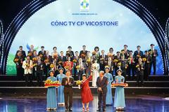 Vicostone tiếp tục được vinh danh Thương hiệu quốc gia