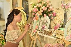 Nghệ sĩ Giáp Vân Khanh lan tỏa nghệ thuật vẽ điêu khắc tới giới trẻ Việt
