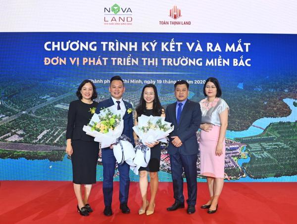 Toàn Thịnh Land - đối tác phát triển thị trường miền Bắc của Novaland