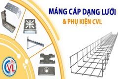 9 ưu điểm của máng cáp lưới Cát Vạn Lợi