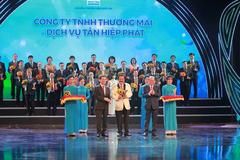 Nước giải khát Tân Hiệp Phát 6 năm liền đạt Thương hiệu Quốc gia