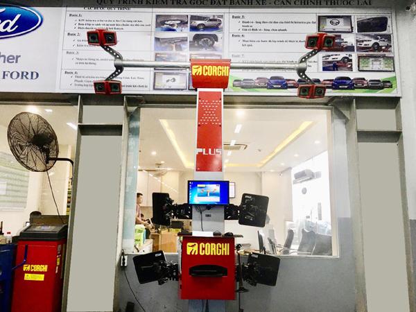 Hải Phòng Ford giảm 40% dịch vụ căn chỉnh thước lái