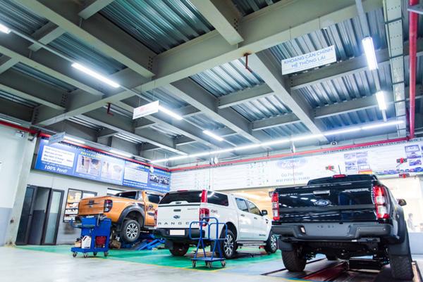 Hải Phòng Ford tặng quà cho khách đặt lịch bảo dưỡng xe