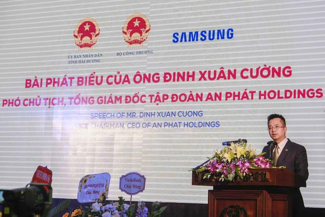 TGĐ An Phát Holding: Việt Nam sản xuất được bu-lông, ốc vít