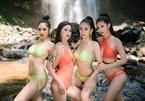 30 thí sinh Hoa khôi Du lịch gợi cảm với bikini