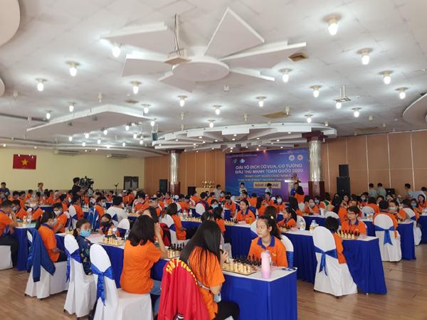 150 kỳ thủ dự Giải vô địch cờ đấu thủ mạnh toàn quốc