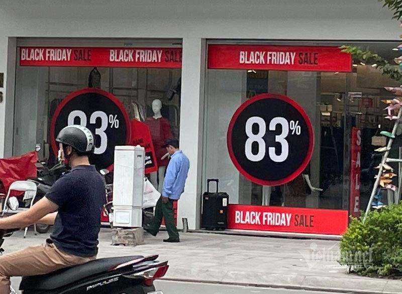 Diễn biến khác thường, một mùa Black Friday chưa từng thấy