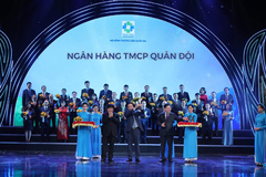 MBBank nhận cú đúp Giải thưởng Ngân hàng Việt Nam Tiêu biểu 2020