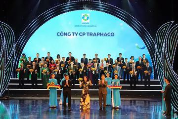 Traphaco 5 lần liên tiếp được công nhận 'Thương hiệu quốc gia'