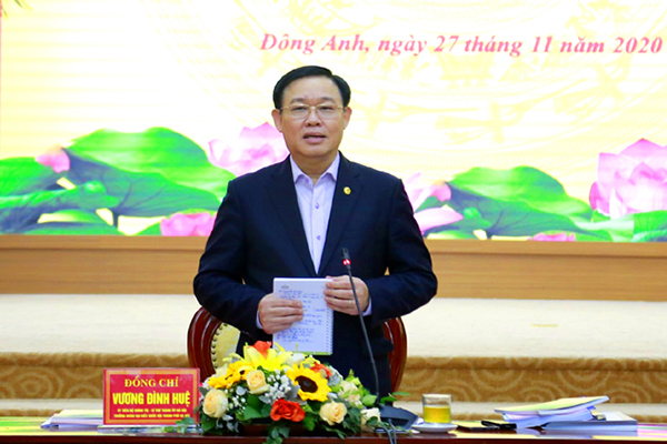 Bí thư Hà Nội: Tránh tình trạng 'thành phố thì mở, xuống sở thì thắt'