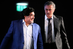 Mourinho nói sự thật ít biết về bạn tri kỷ Diego Maradona