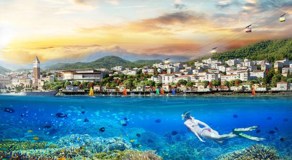 Kinh doanh 'đắc lợi' với shophouse mặt biển ở nam Phú Quốc