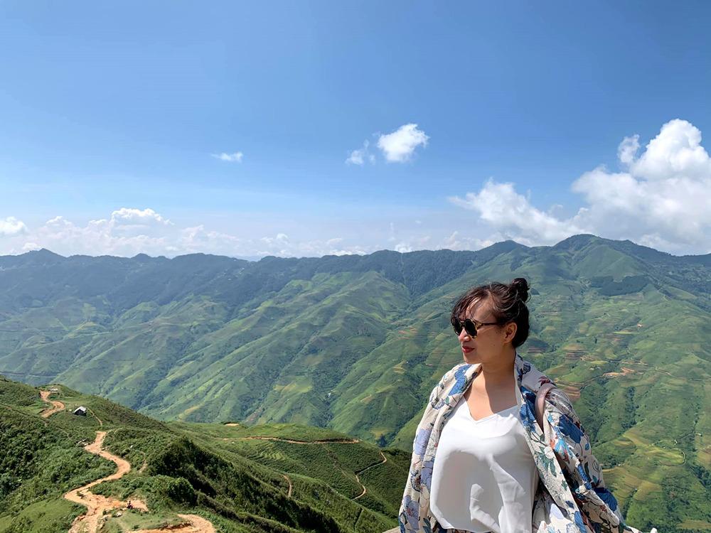 Vợ chồng Khánh Linh sống với thiên nhiên ngày cuối tuần yêu thương