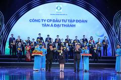 Tân Á Đại Thành lần thứ tư đạt 'Thương hiệu quốc gia'
