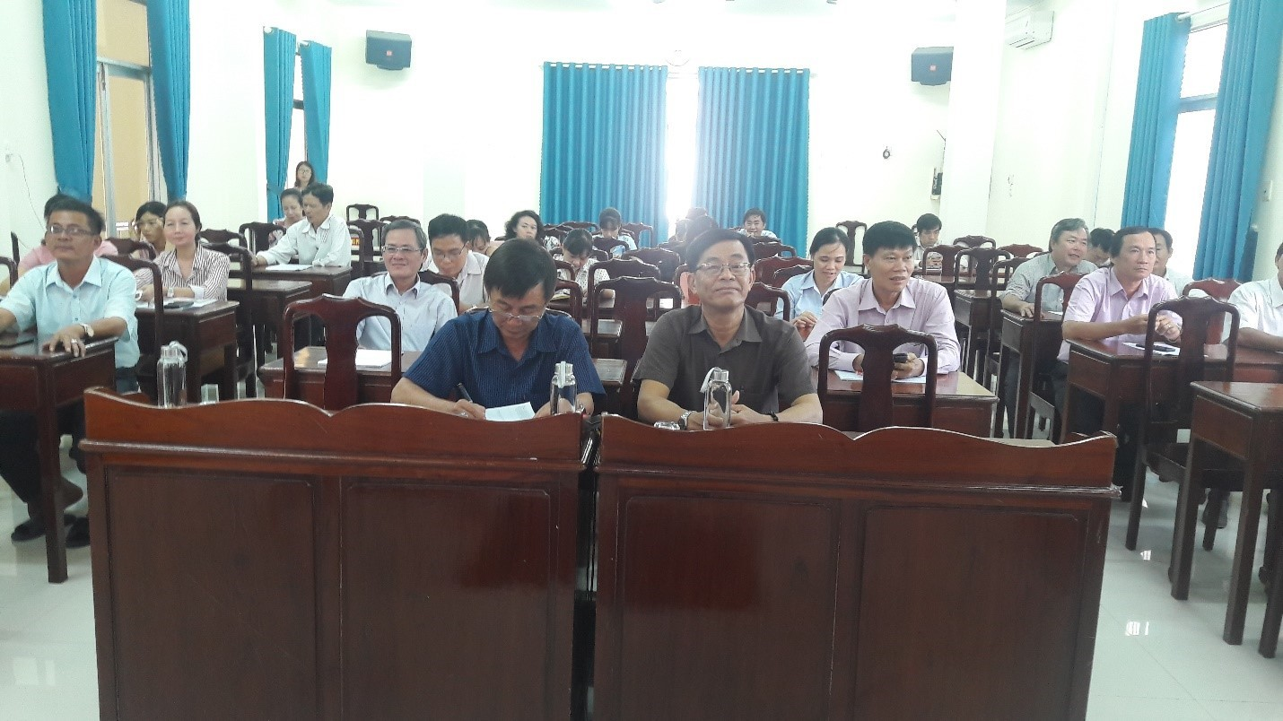 Cục Thống kê Ninh Thuận tăng cường bồi dưỡng Kỹ năng viết báo cáo phân tích thống kê